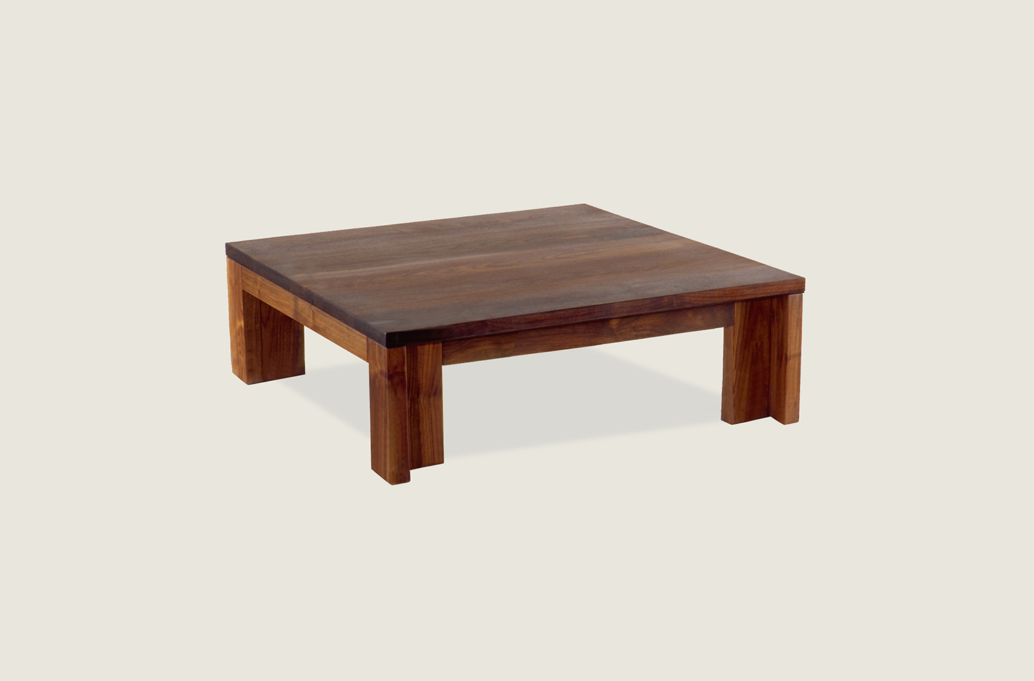 Insight Coffee Table in solid walnut - Speke Klein