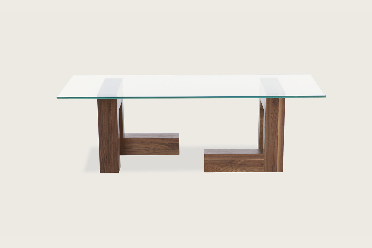 Speke Klein - 4x4 Coffee Table in solid walnut