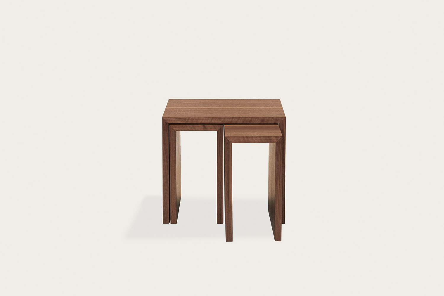 More Nesting Tables in walnut - Speke Klein