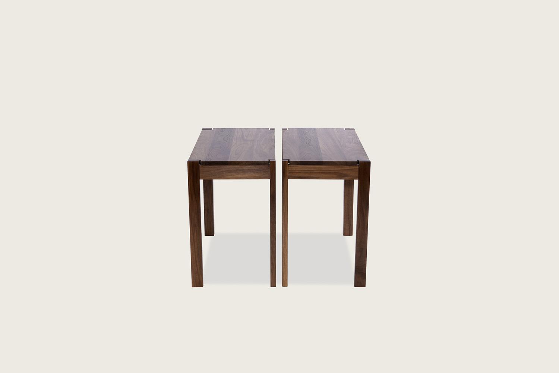 Harris Tables in solid walnut - Speke Klein