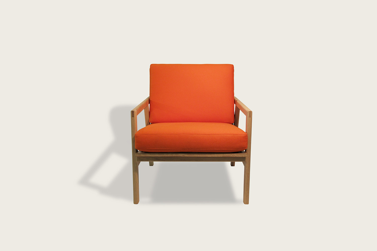 Adam Lounge Chair in oak with wool upholstery - Speke Klein