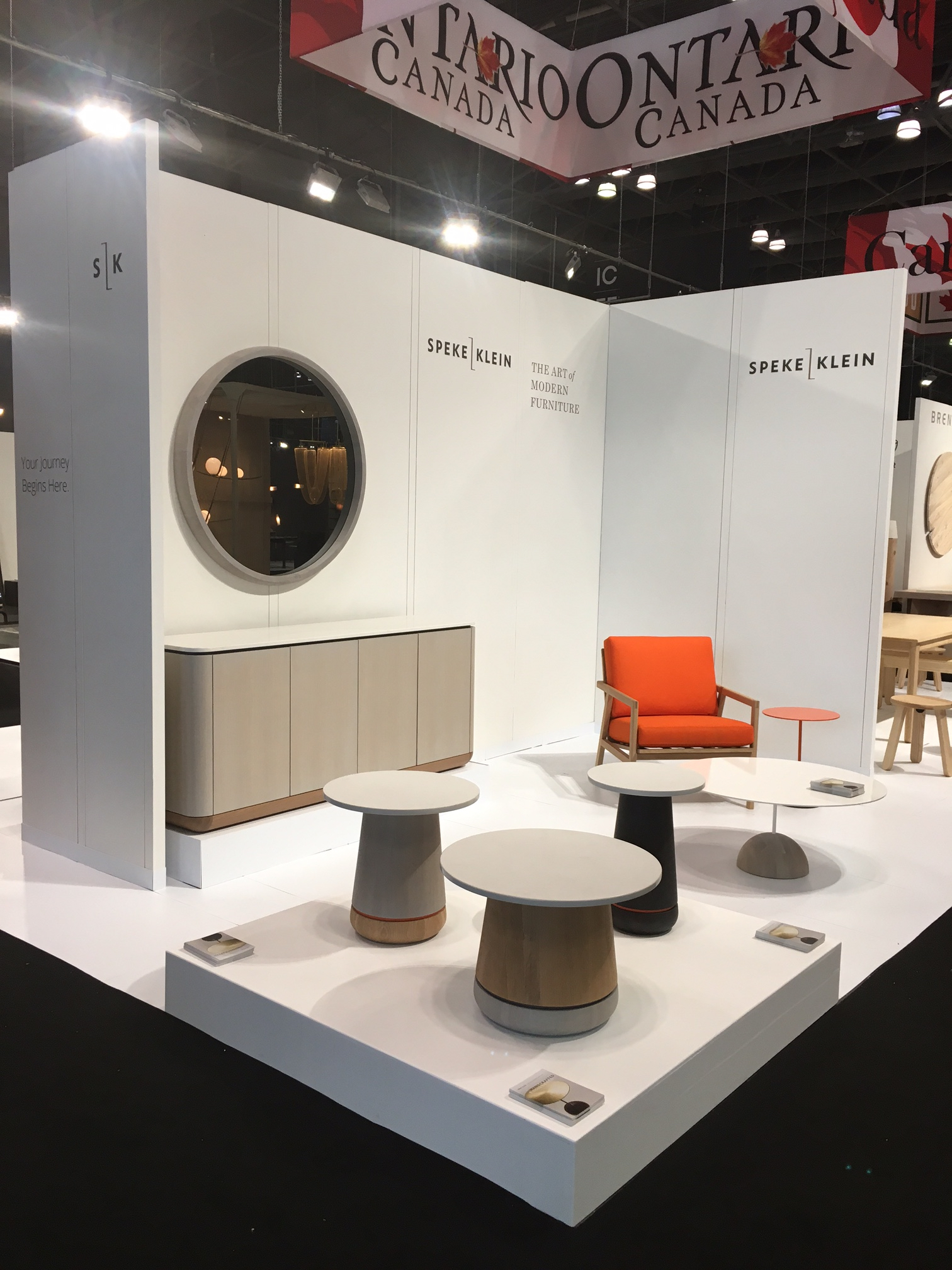 Speke Klein Booth at ICFF 2017