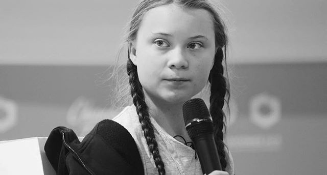 """You say you love your children above all else, and yet you are stealing their future in front of their very eyes... We cannot solve a crisis without treating it as a crisis...if solutions within the system are so impossible to find, then... we should change the system itself."" - Greta Thunberg 