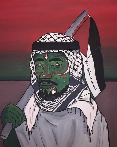"""Palestine will live free"""