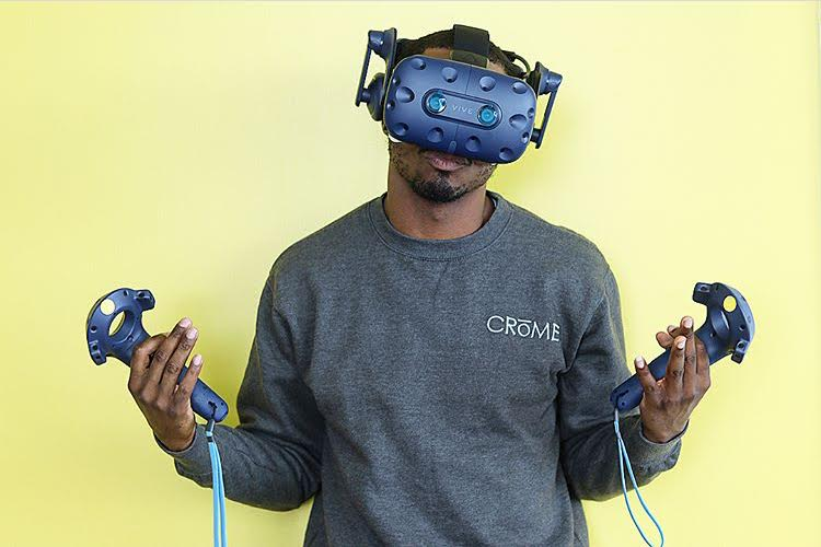 Crishon Jerome , Founder of Crome VR