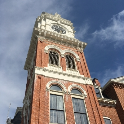 The courthouse in Covington, a site of much Vampire drama.