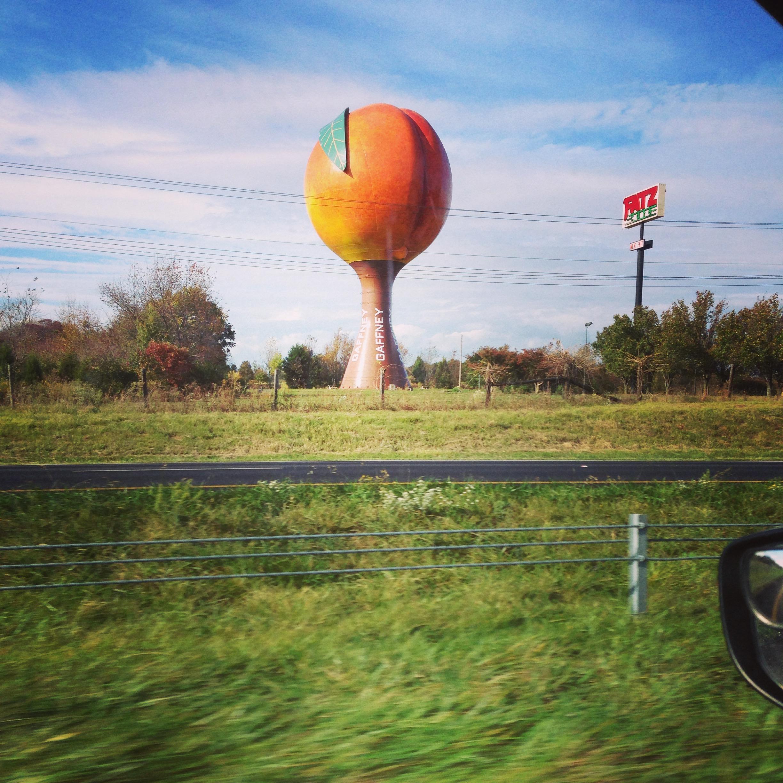 A South Carolina peach. Is that a thing?