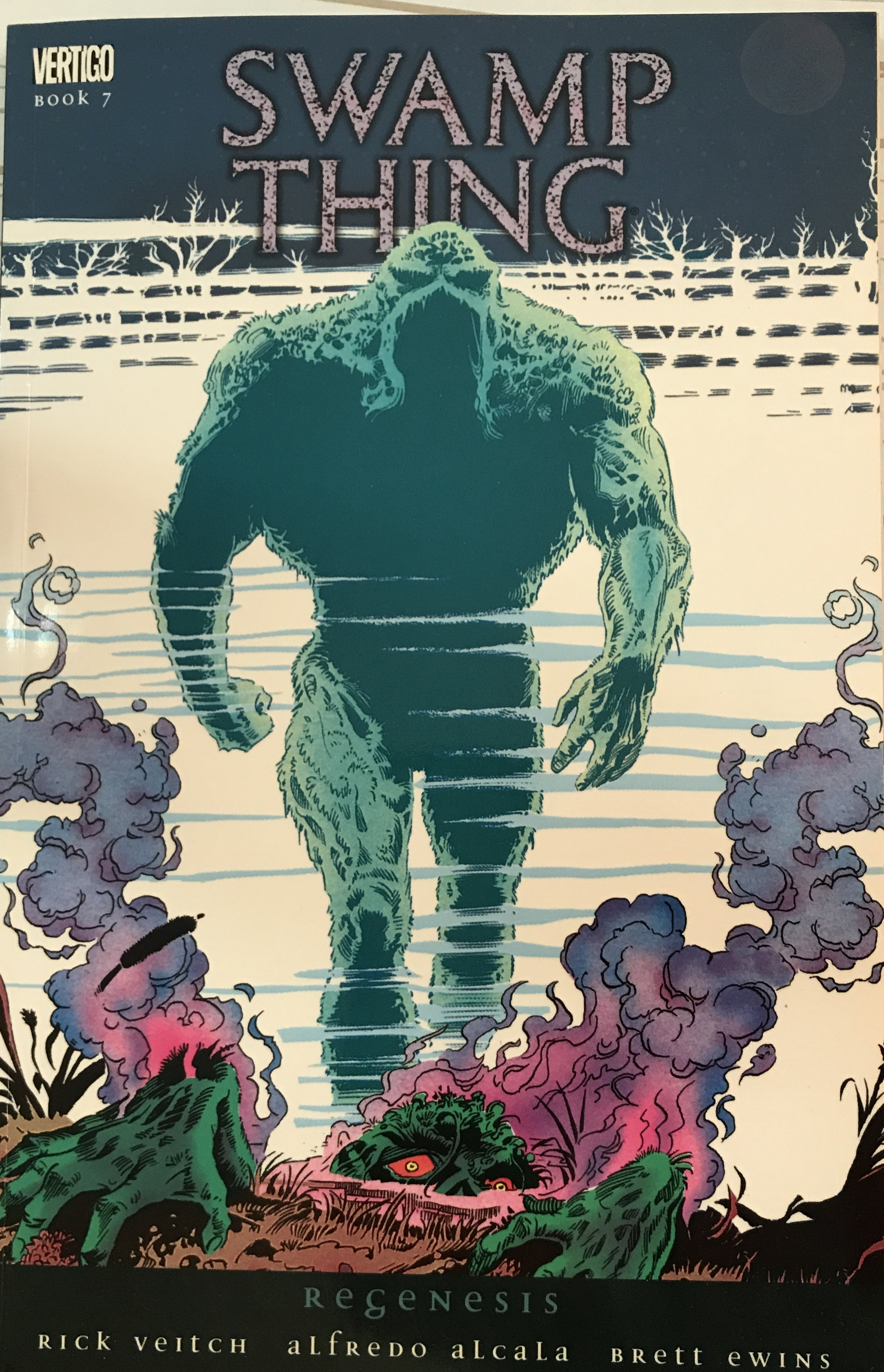 Who could play Swamp Thing in a movie?
