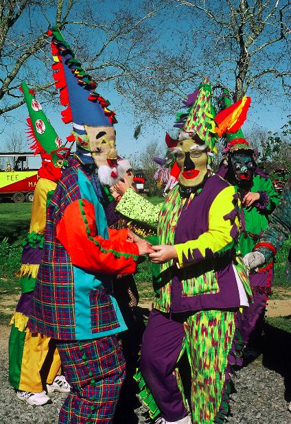Tee Mamou Mardi Gras Partner Dance | Photo: Carolyn Ware