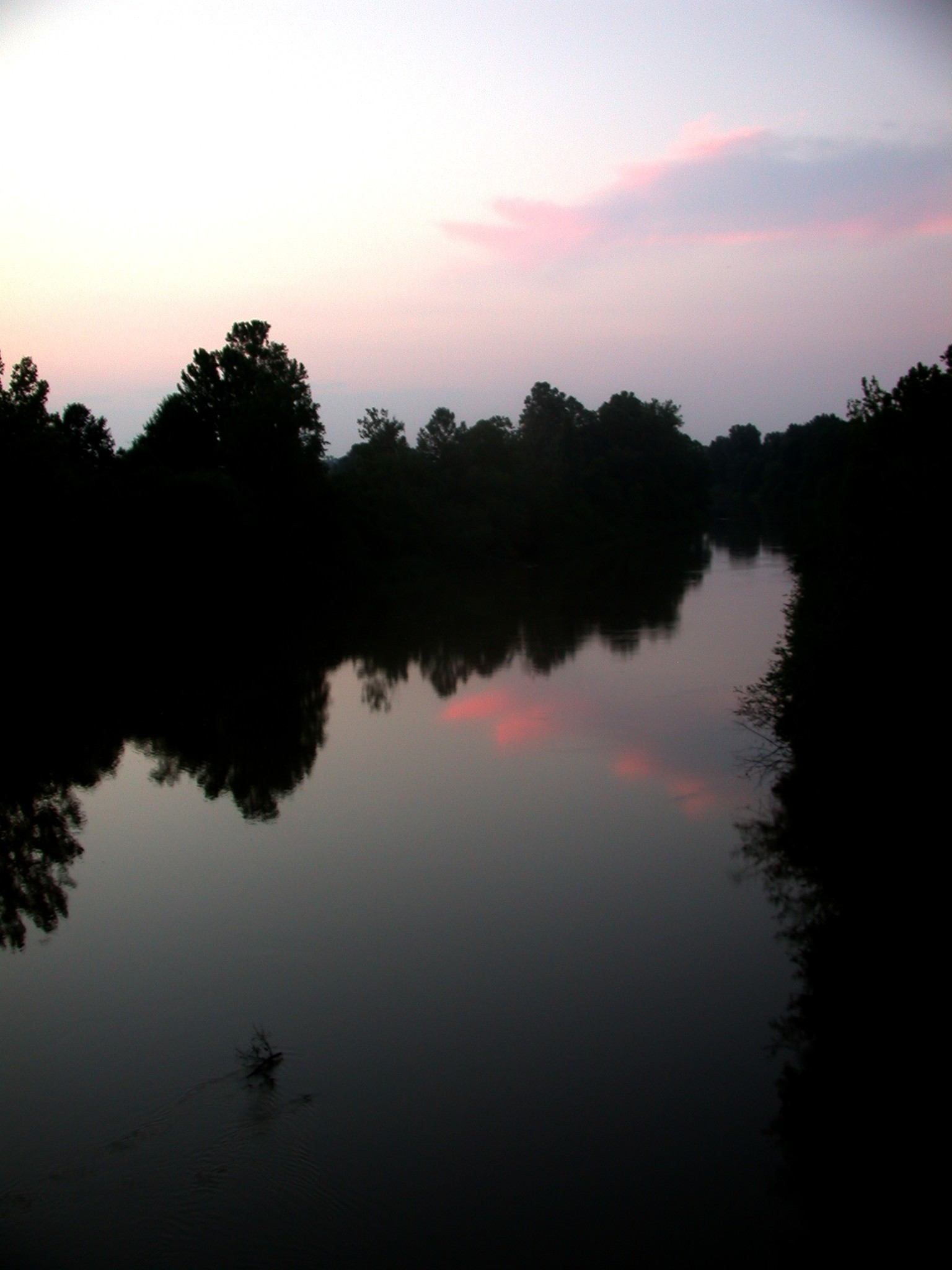 The Tallahatchie River where Till's body was found. Photo credit: M. Susan Orr-Klopfer via Wikimedia Commons