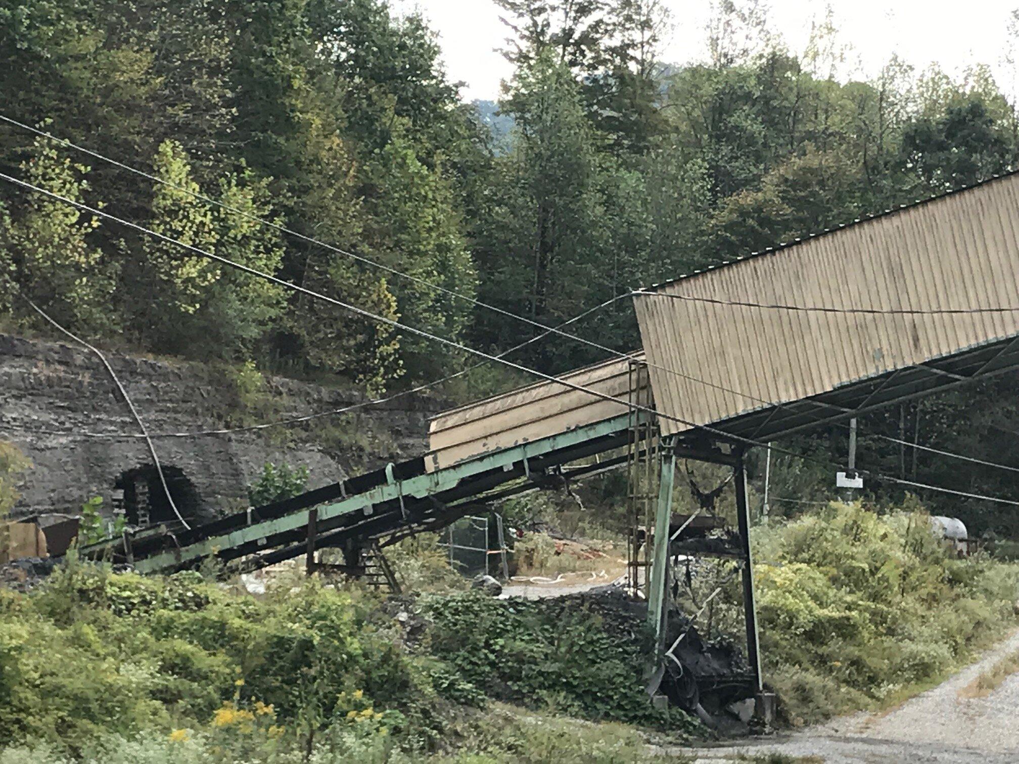 A mine in eastern Kentucky.