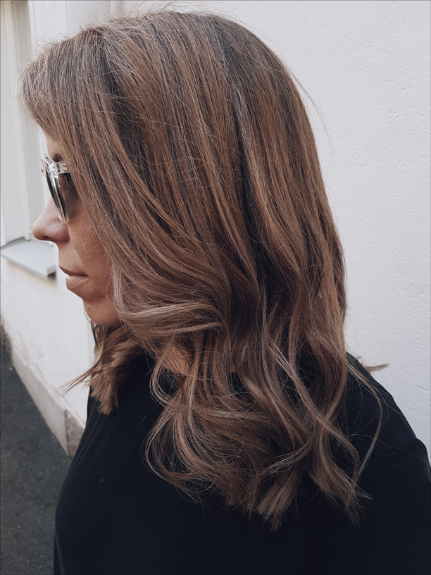 Hair and photos by Susanna Poméll Model: Pinja