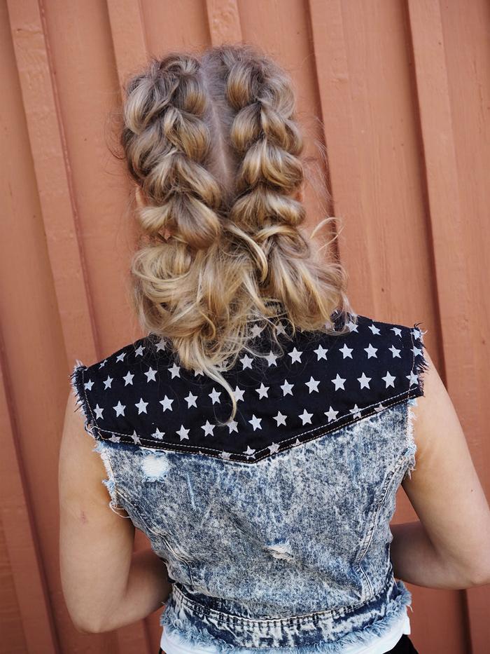 Hair & photos by Susanna Poméll Model: Charlotta