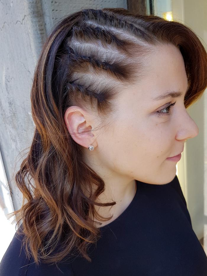 Hair & photo by Susanna Poméll Model: Taru