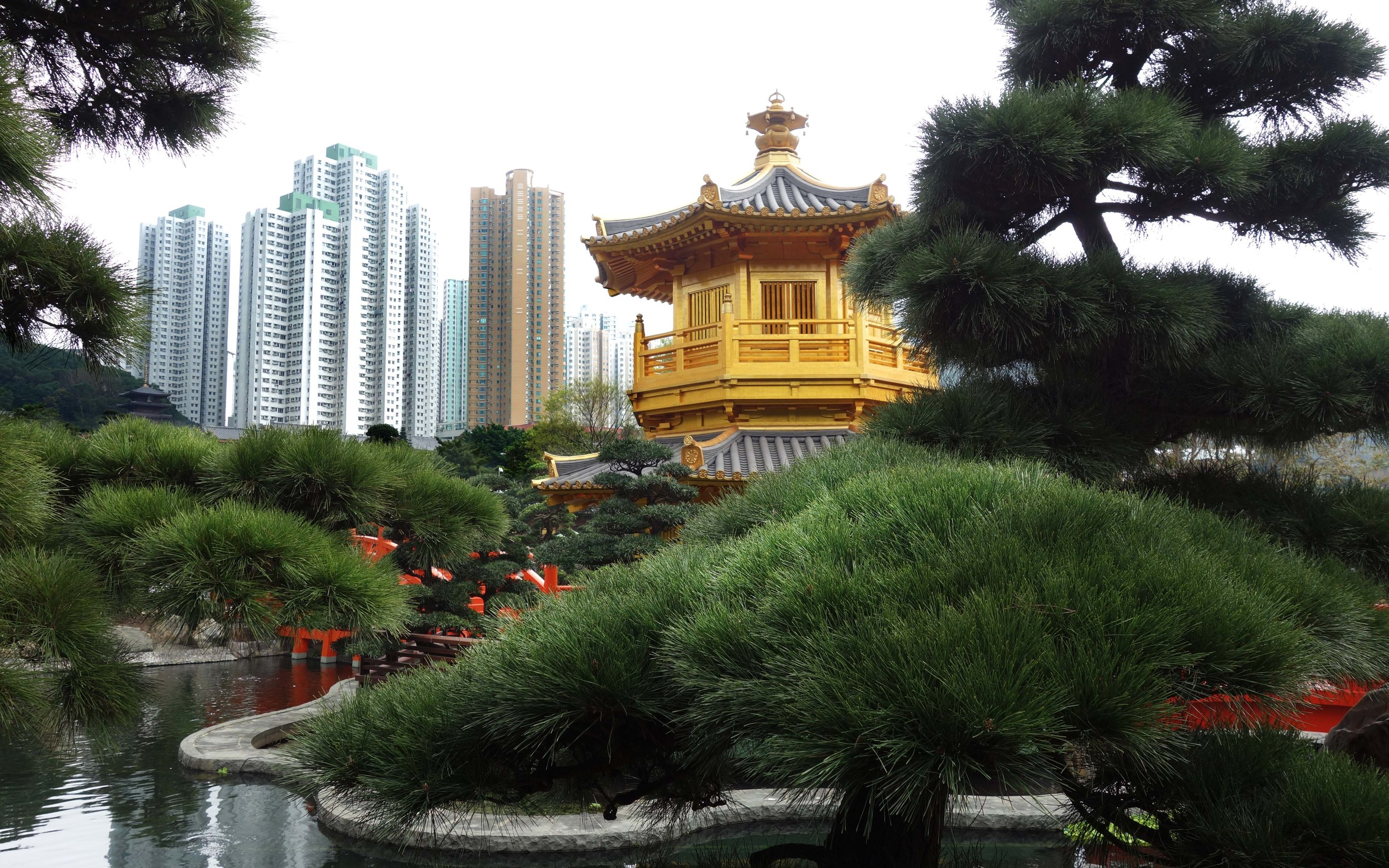 Gardens across from Chin Lin Nunnery