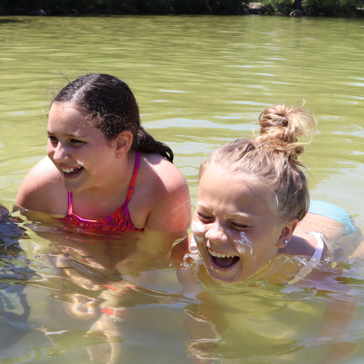 """""""I still remember the first time I went tubing at WEHGC last year, and I can still see Johanna, one of the counselors, screaming her head off. The counselors are so compassion, and it's great to see them act like kids, just like us."""""""
