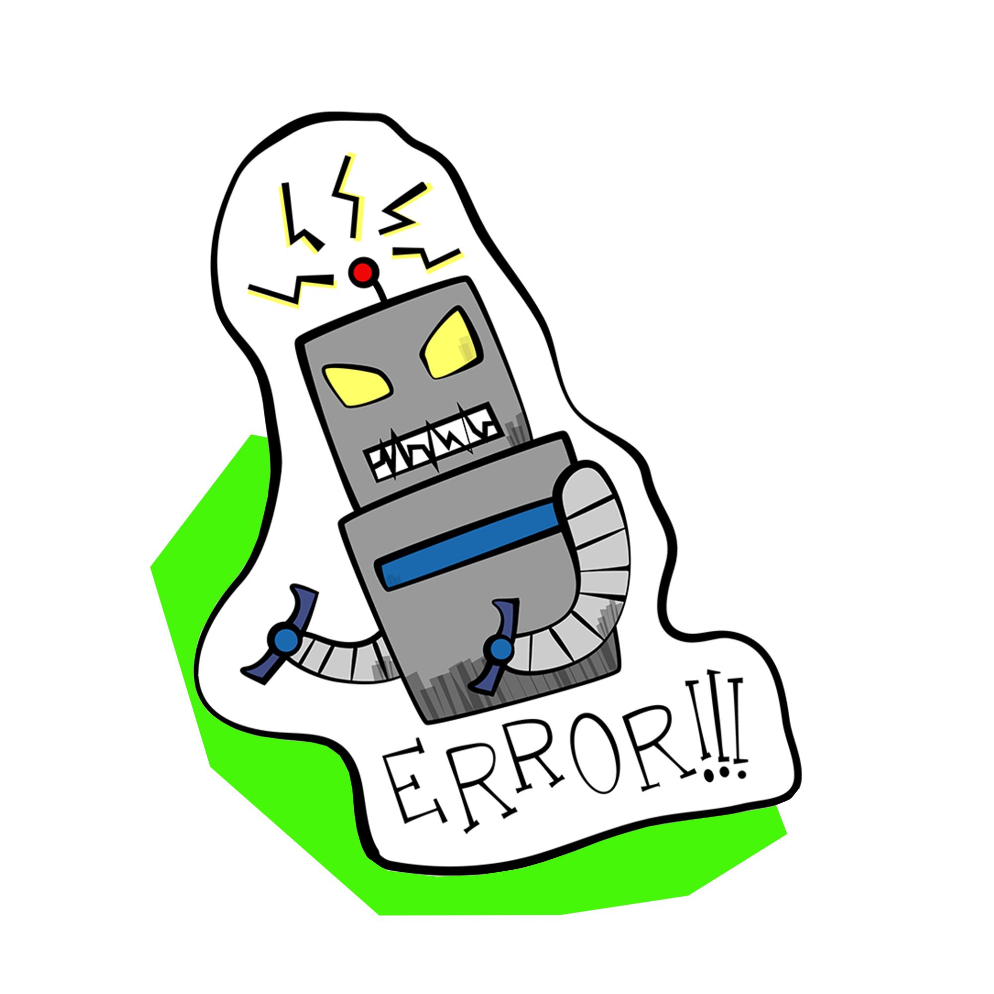 Vintage Robot Stickers