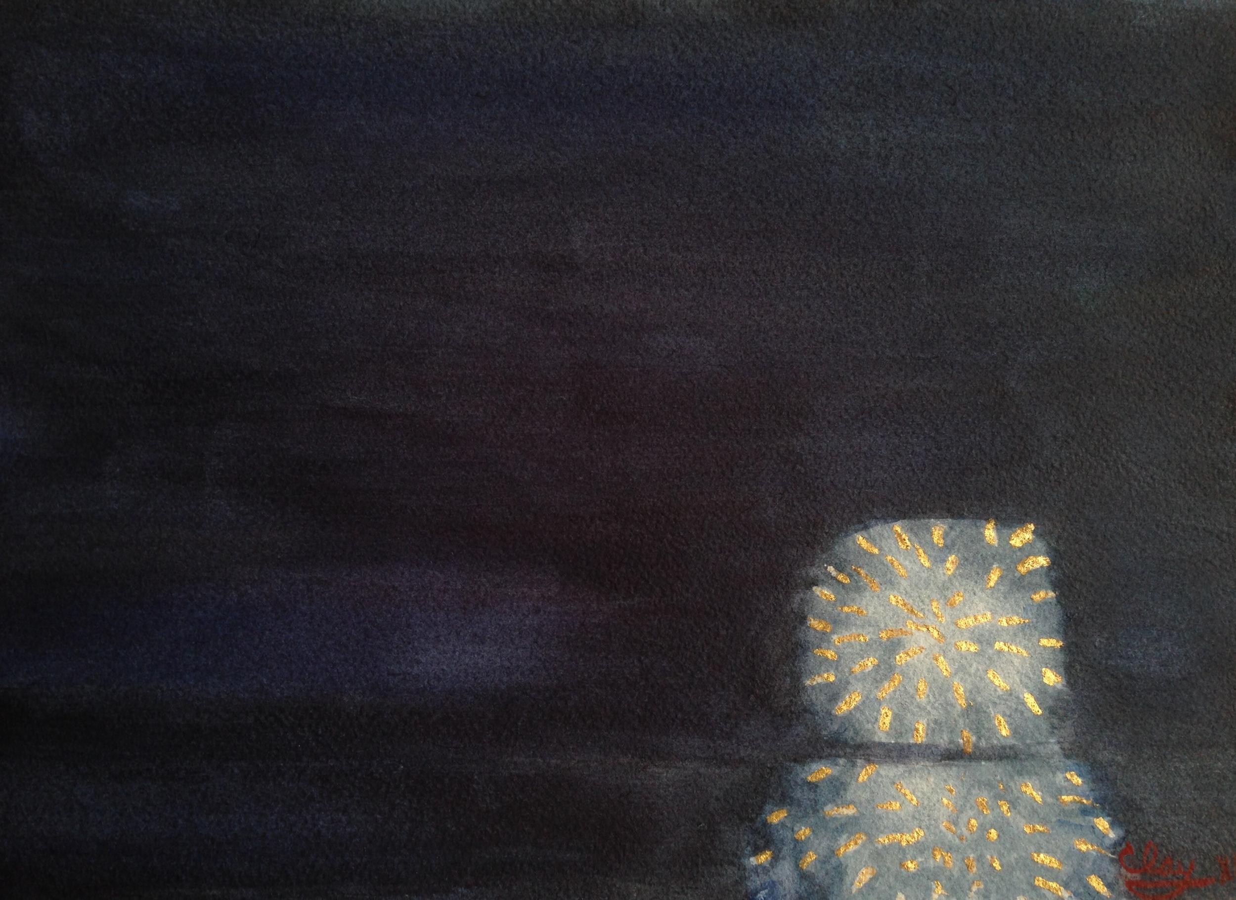 Fireworks at Night 1