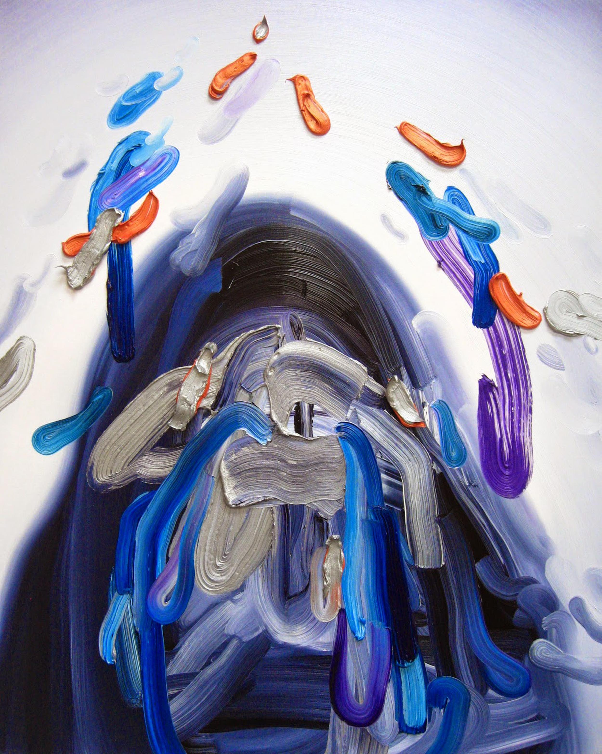 Confetti / oil on canvas / 30 x 24 inches