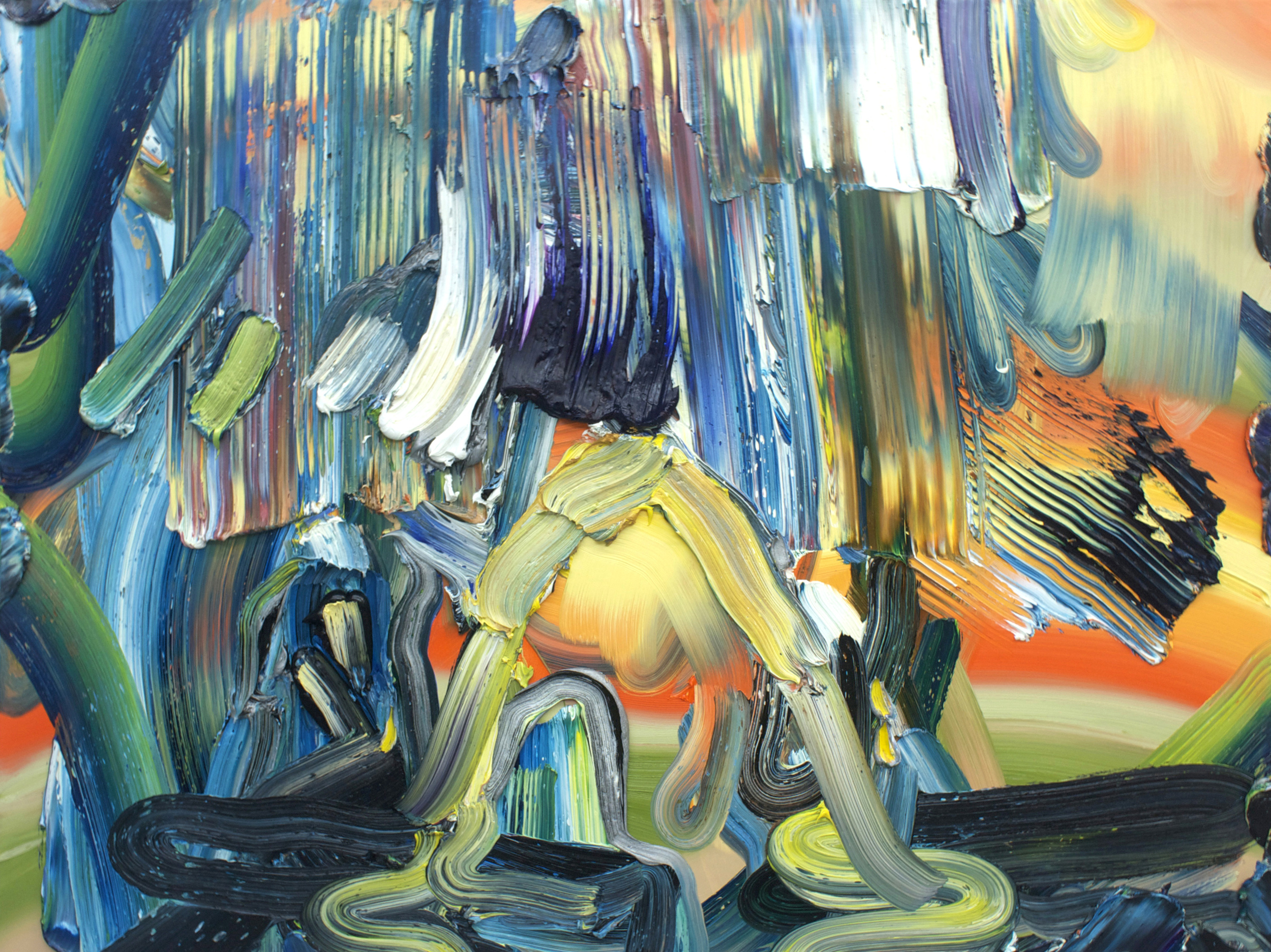 Hail / oil on canvas / 30 x 40 inches