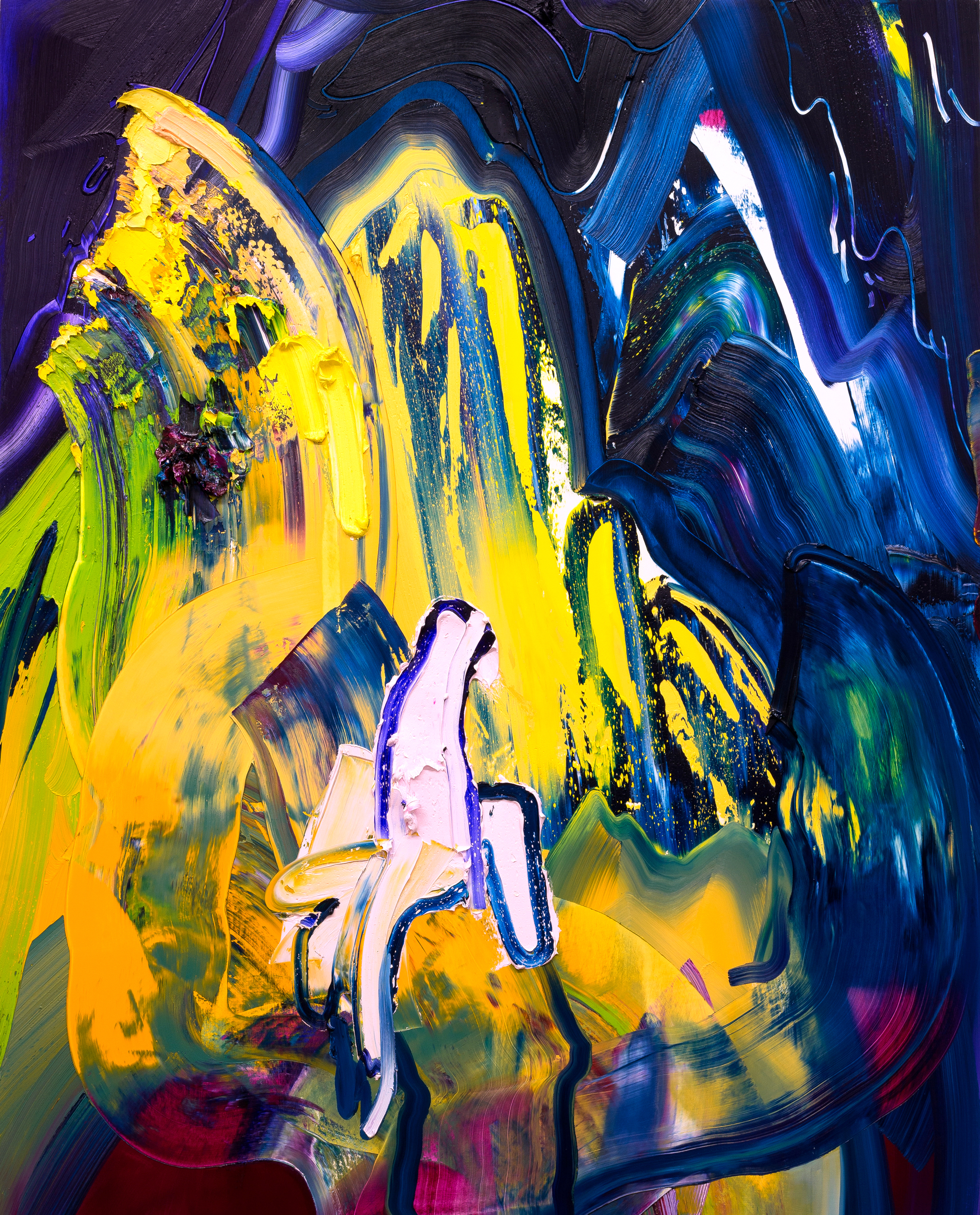 Genie / oil on canvas / 60 x 48 inches
