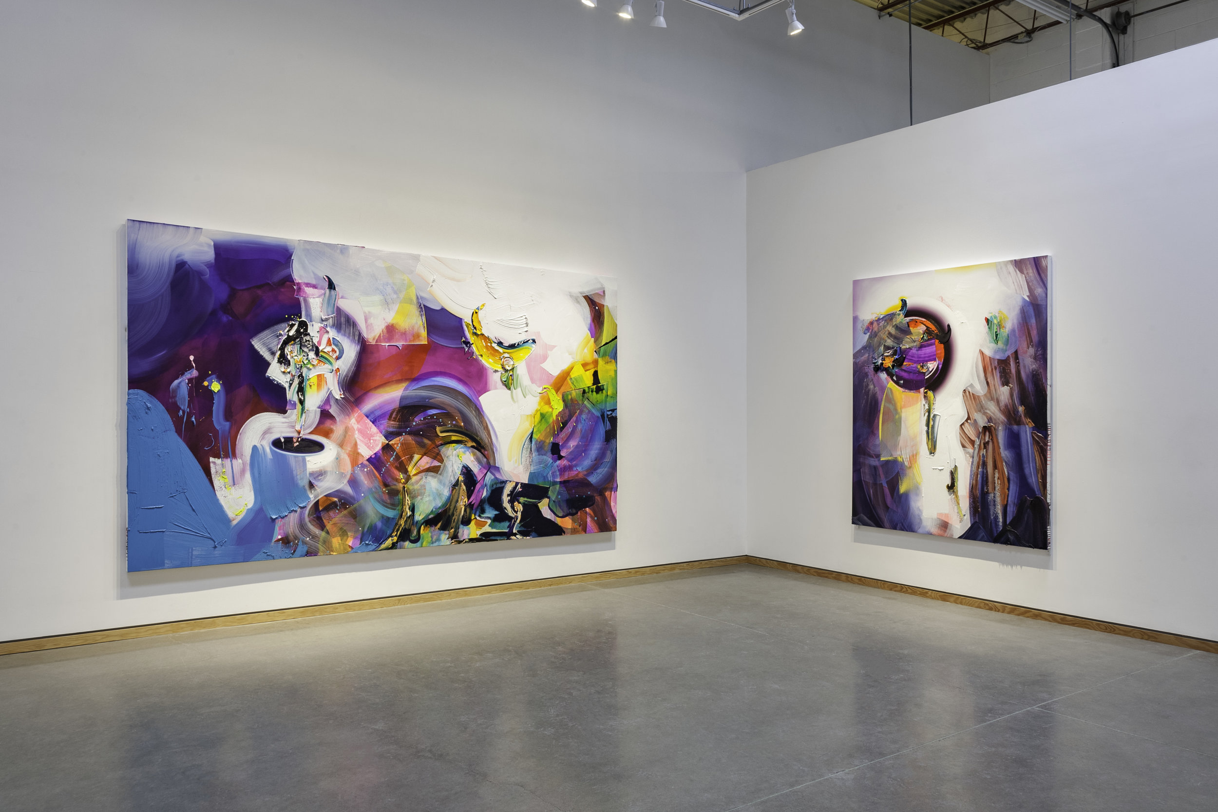 Installation view, Angell Gallery, Toronto, ON