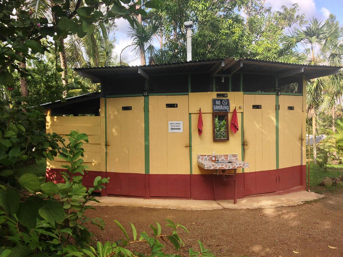 Biogas Latrine at Monkey Bay
