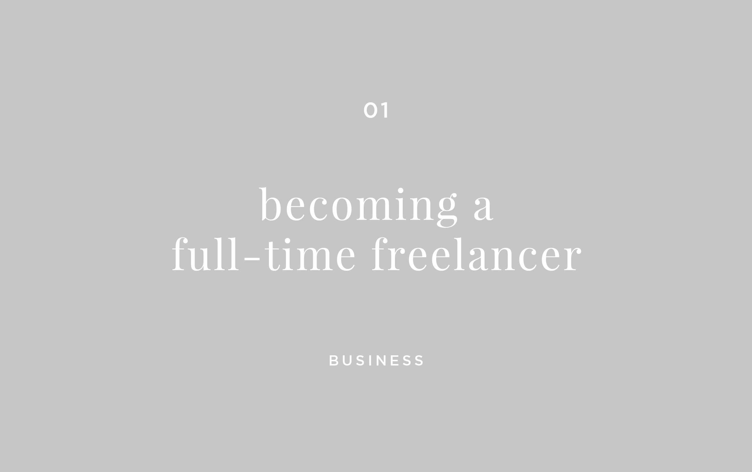 becoming-a-full-time-freelancer