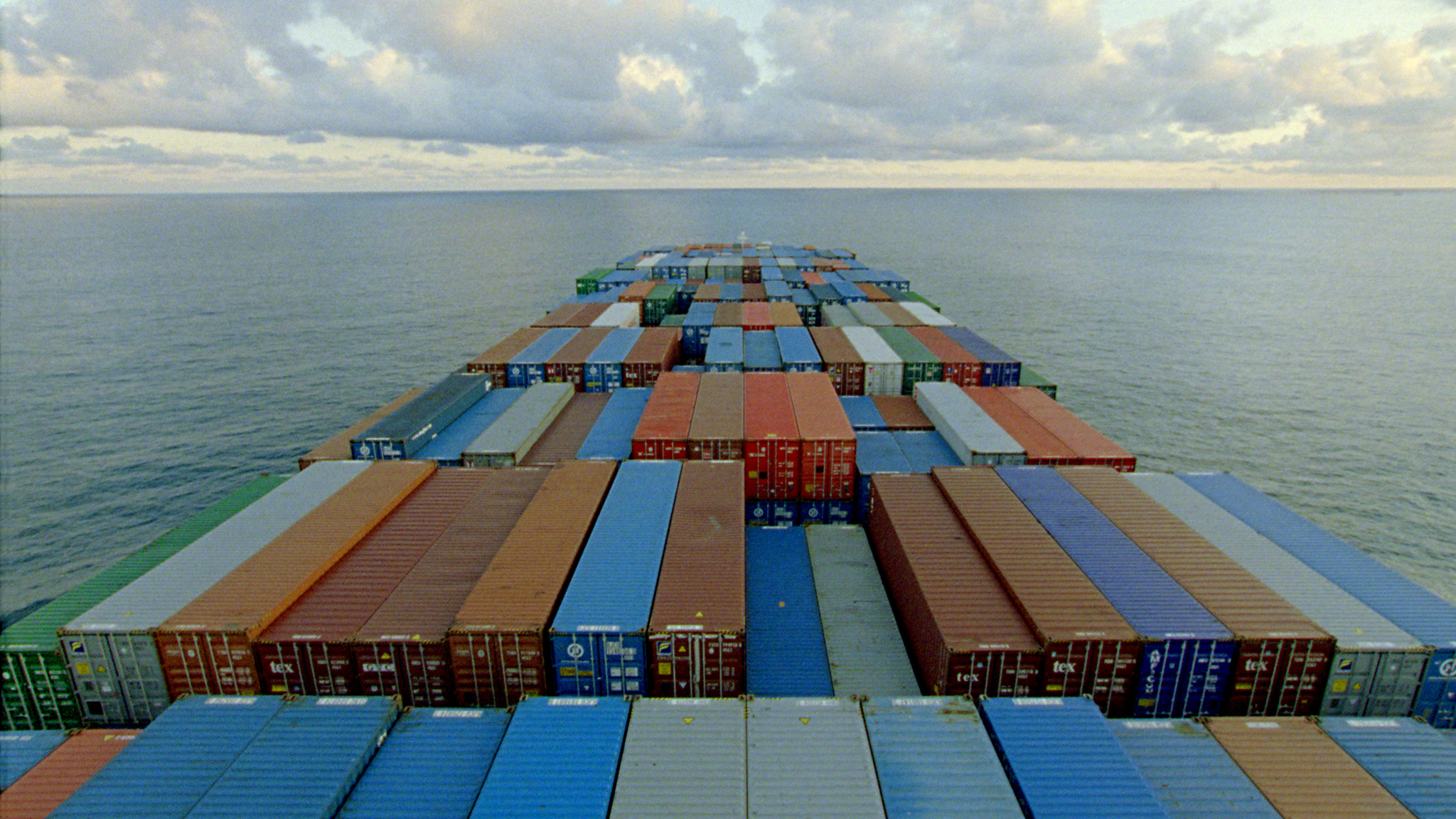 Still from Noël Burch and Allan Sekula's  The Forgotten Spaces  (2012).