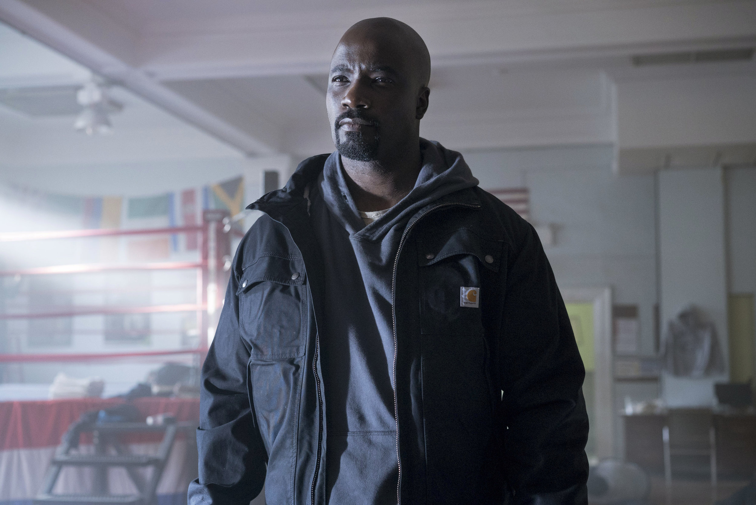 Mike Colter  as Luke Cage ( Image via Netflix )