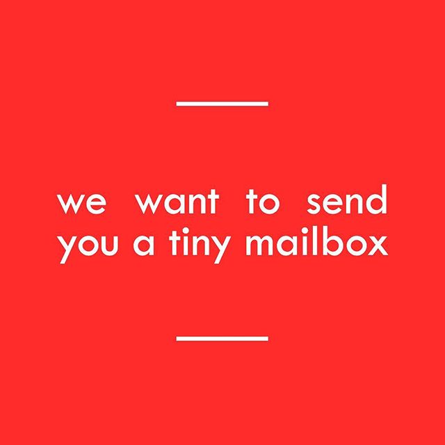 Tag a friend and we are going to select 5 people to send tiny mailboxes! As a way to wrap up our 100 tiny mailbox project we are going to be sending the last five to people in the US to hide in their neighborhoods!