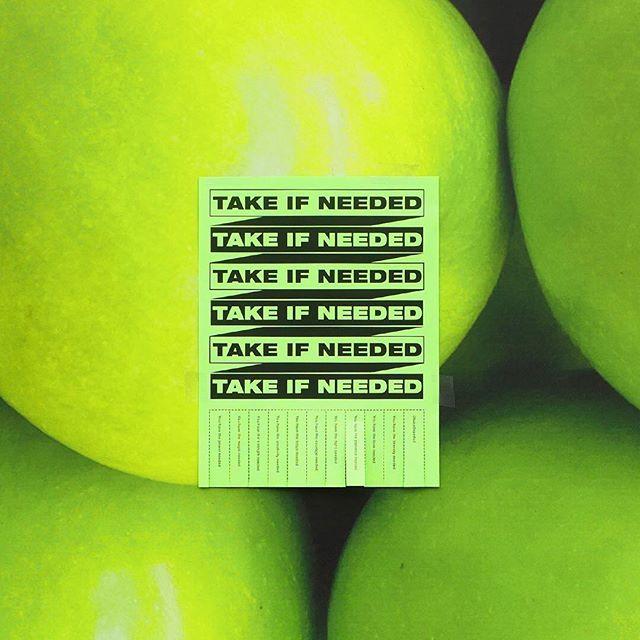 #takeifneeded