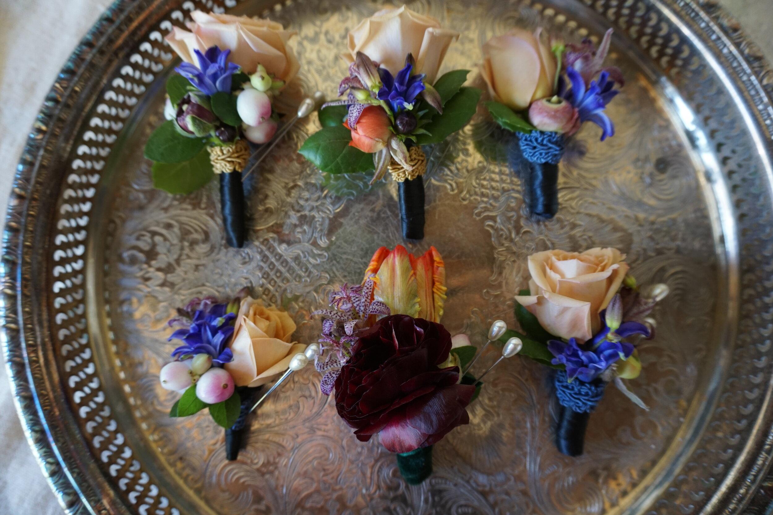 Botanicamuse by Madeleine Shelton Dutch Masters The Guild Hotel Luxury Wedding