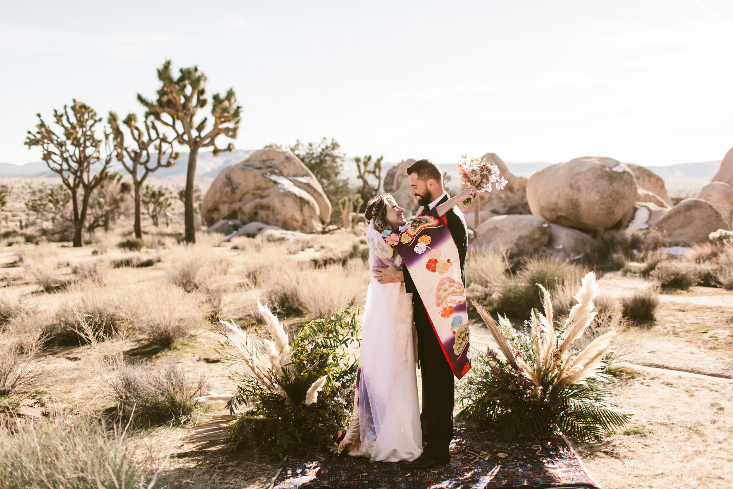 Botanicamuse by Madeleine Shelton Rimrock Ranch Joshua Tree Palm Springs Destination Wedding Snow Westlund Photography