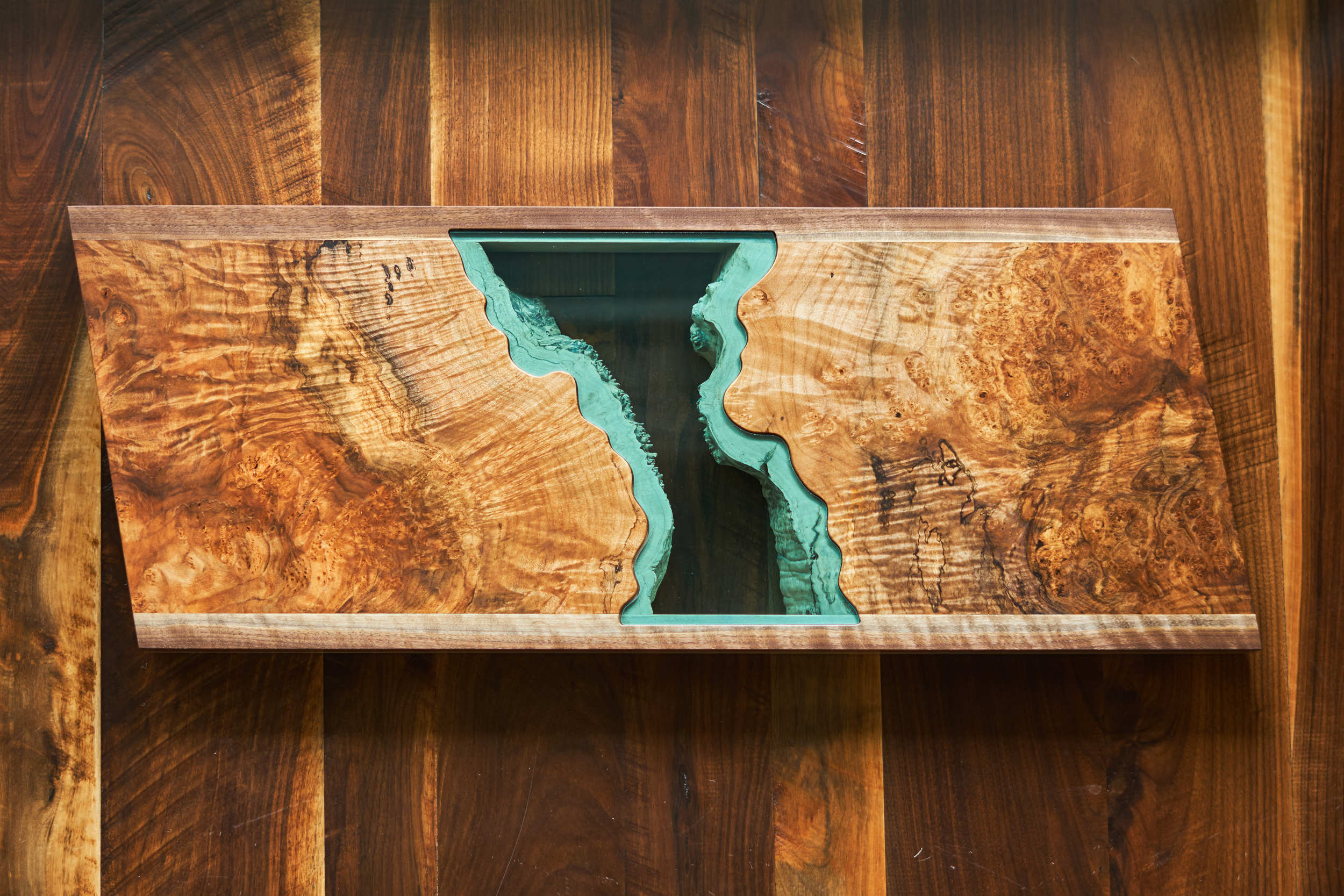 The Prism Maple Collection Tea Table/Wall Hanging