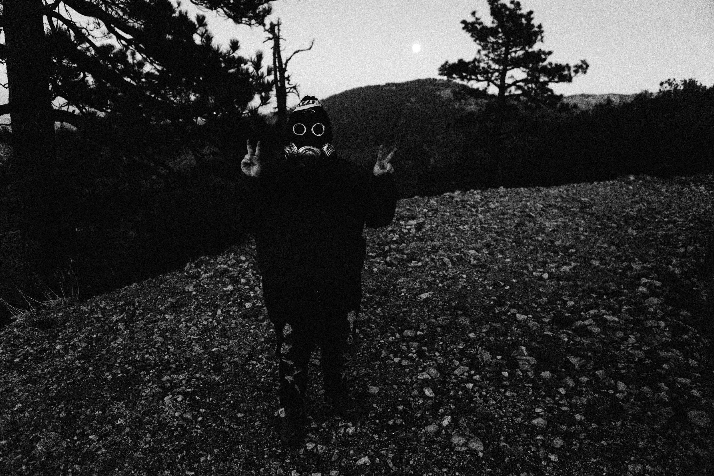 Spooky AJ. Photo by Mike Long.