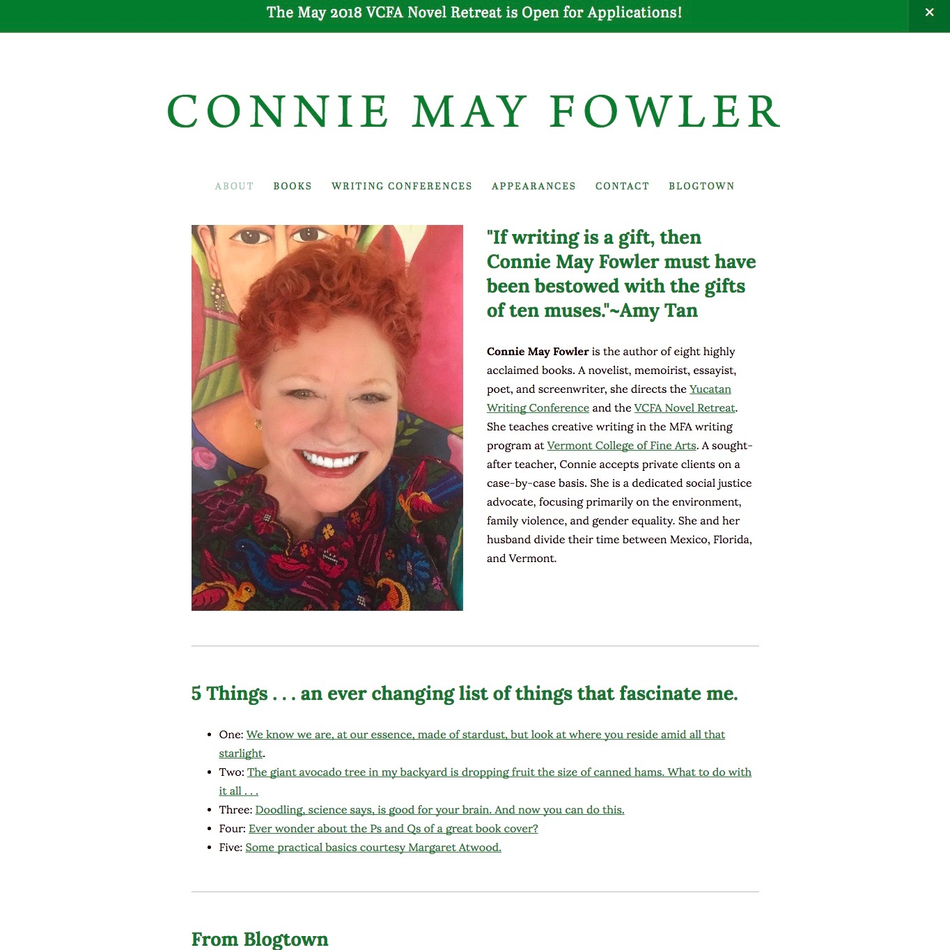Connie May Fowler