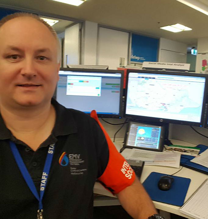Justin Kibell, Manager of Operational Intelligence, Emergency Management Victoria