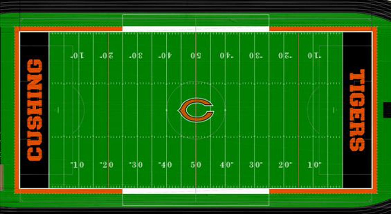 Depiction of the finished surface provided by CHS