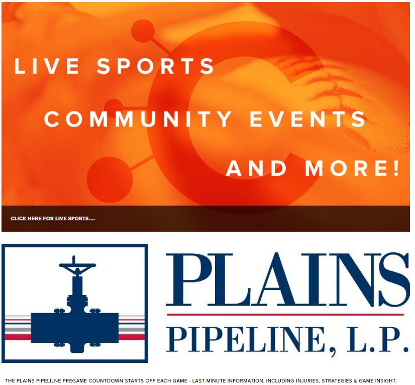 Plains All American Pipeline is an official sponsor of RDMGtv LIVE Streaming Events.   Click to watch LIVE!