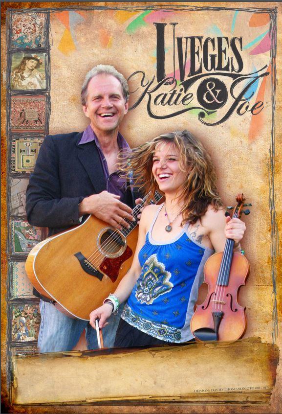 Head liners Joe & Katie Uveges
