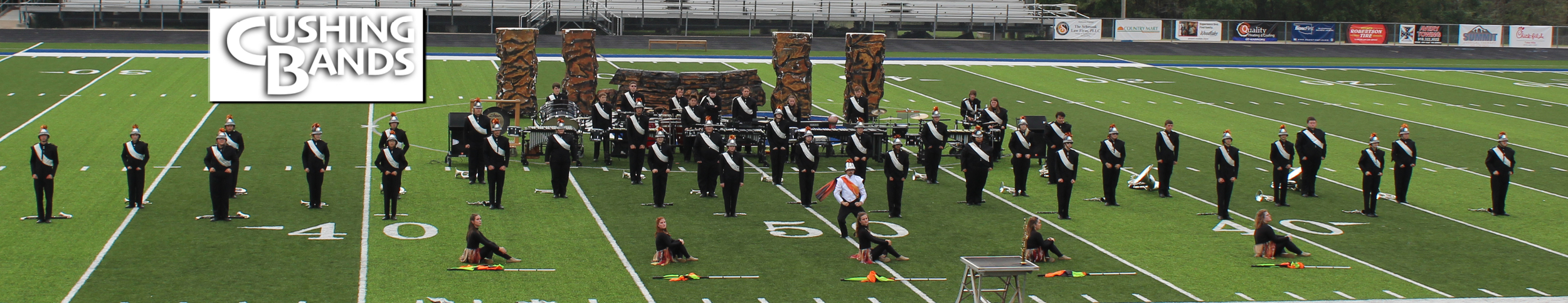 Cushing High School Marching Band - Band Of Demons Contest Beggs OK