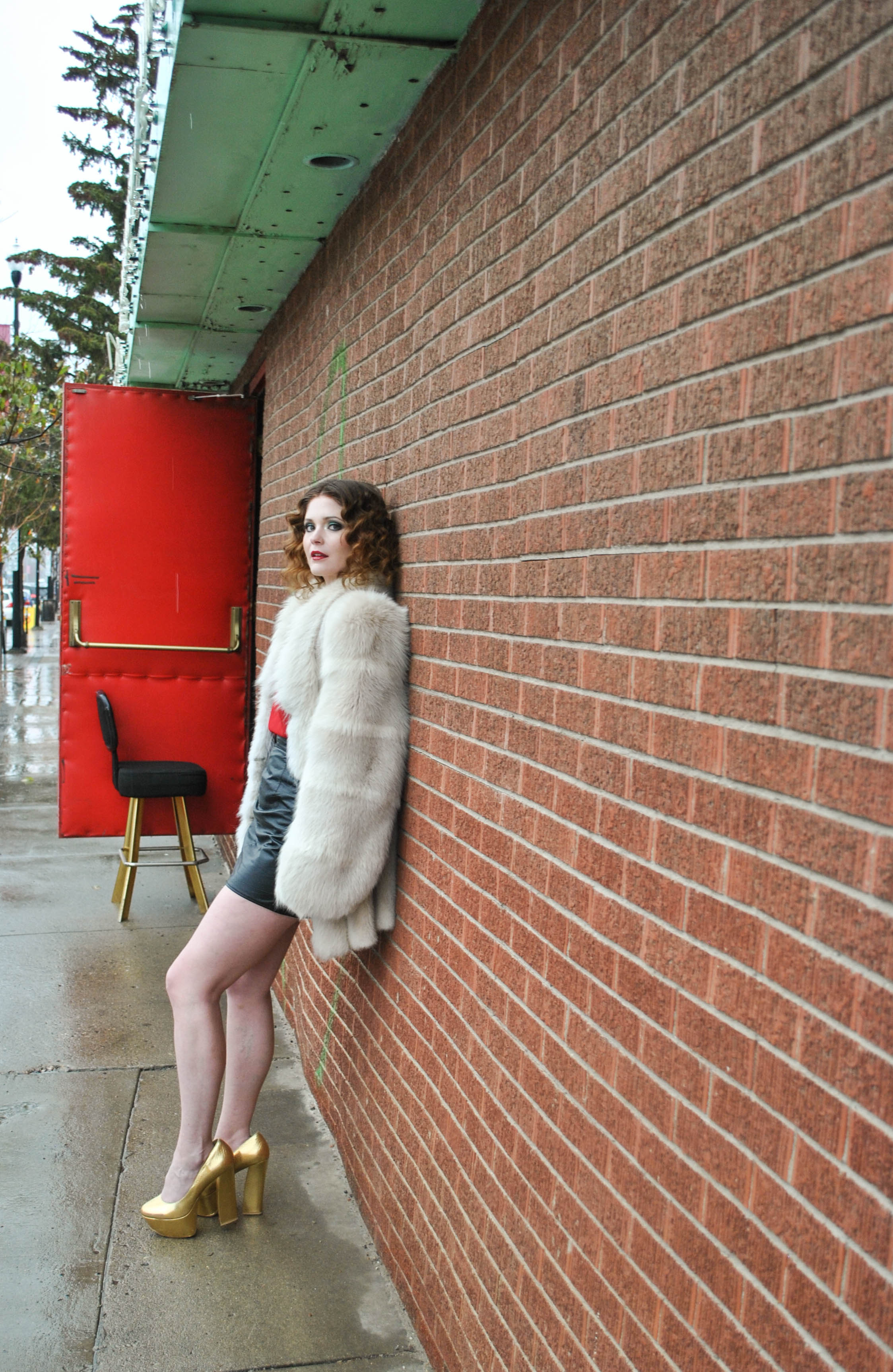 """This one reminds me of the Rolling Stones song """"waiting on a friend""""  Model: Megan Fulmes  Hair Stylist: Lindsay Anderson  Outfit: Goldie's General"""