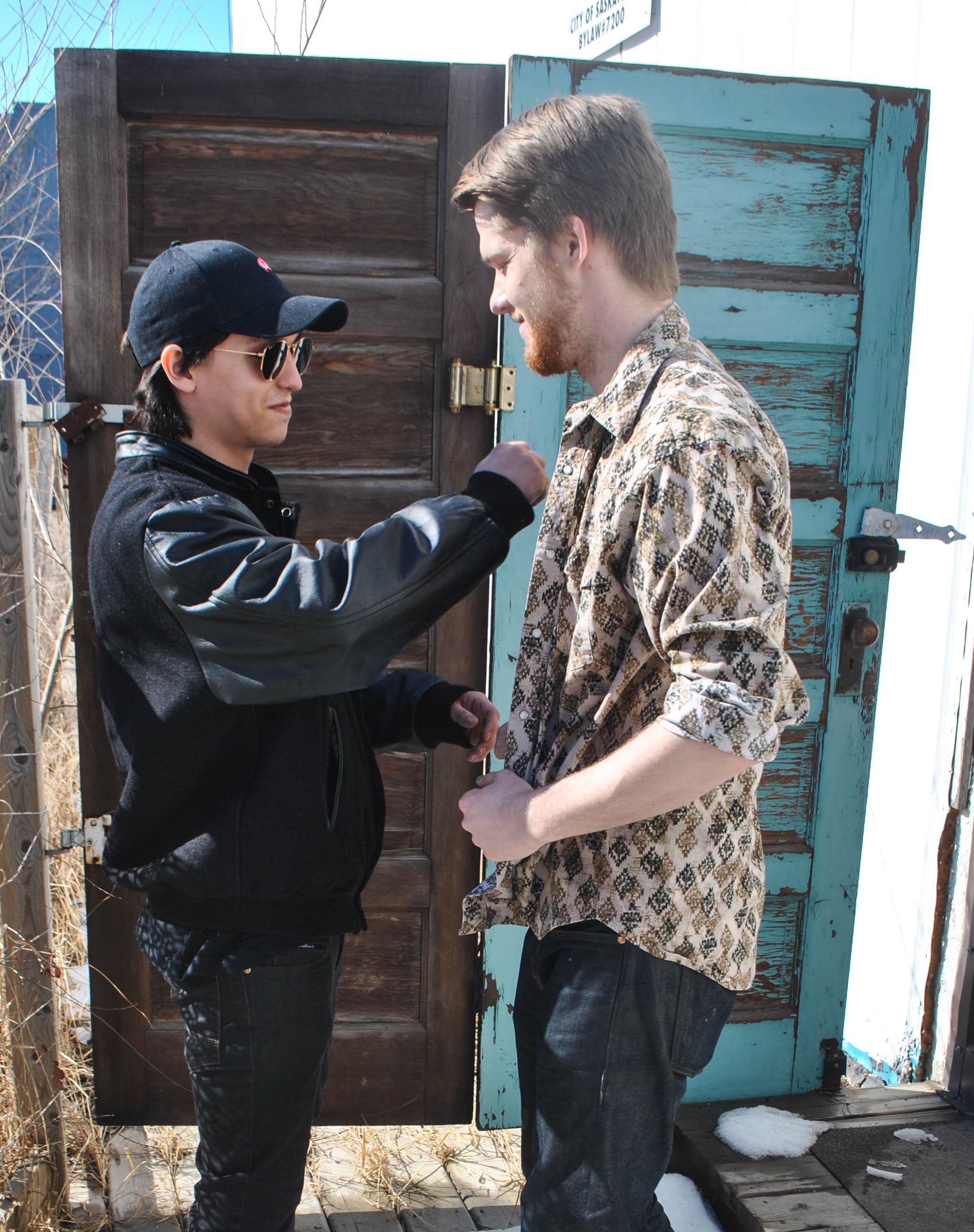 Brian and Sebastian