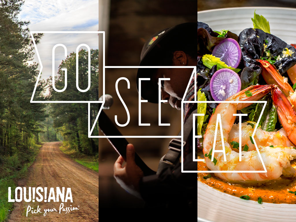Louisiana Office of Tourism : Video Concept for Young Culinary-Minded Tourists