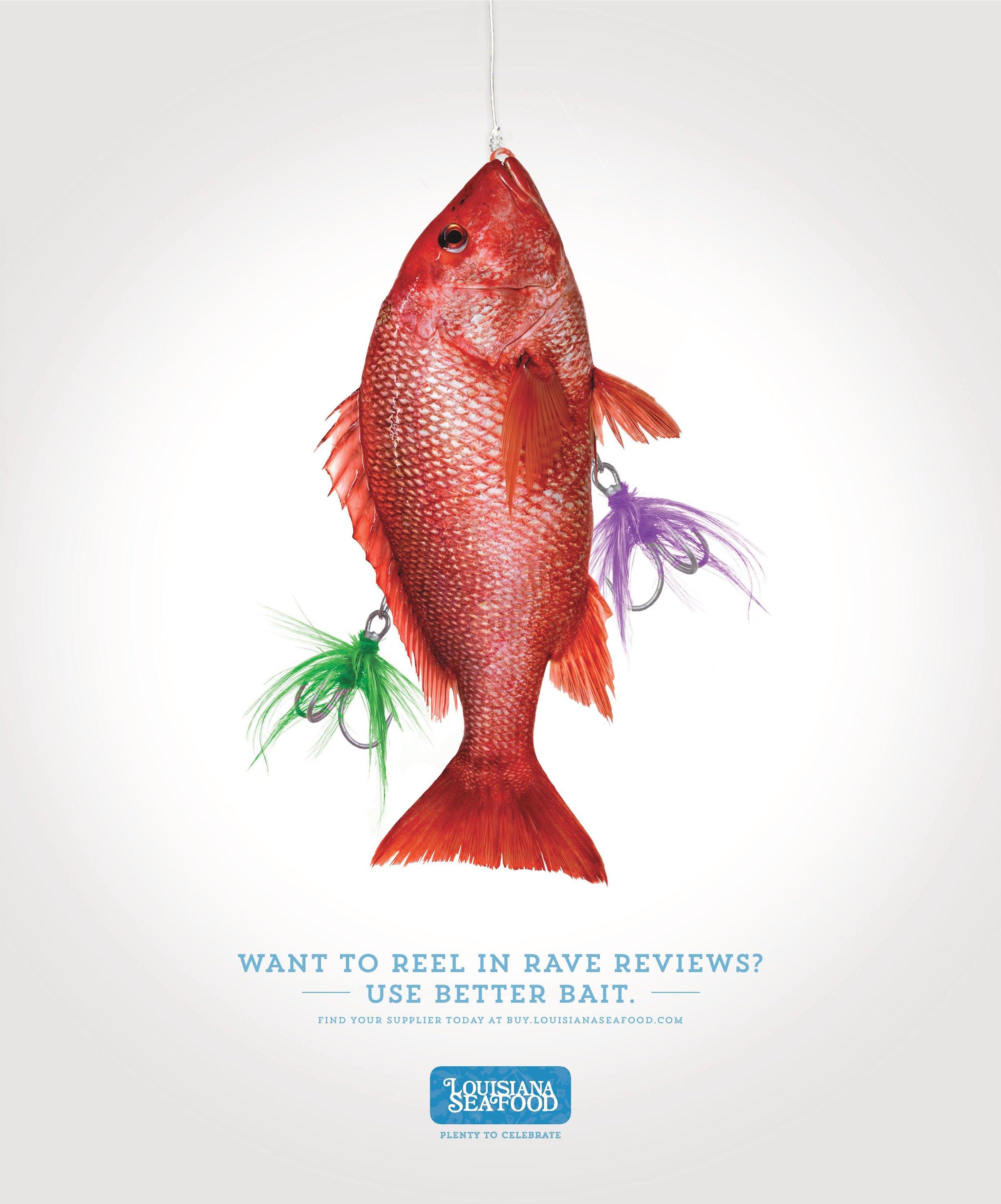 Louisiana Seafood B2B Campaign