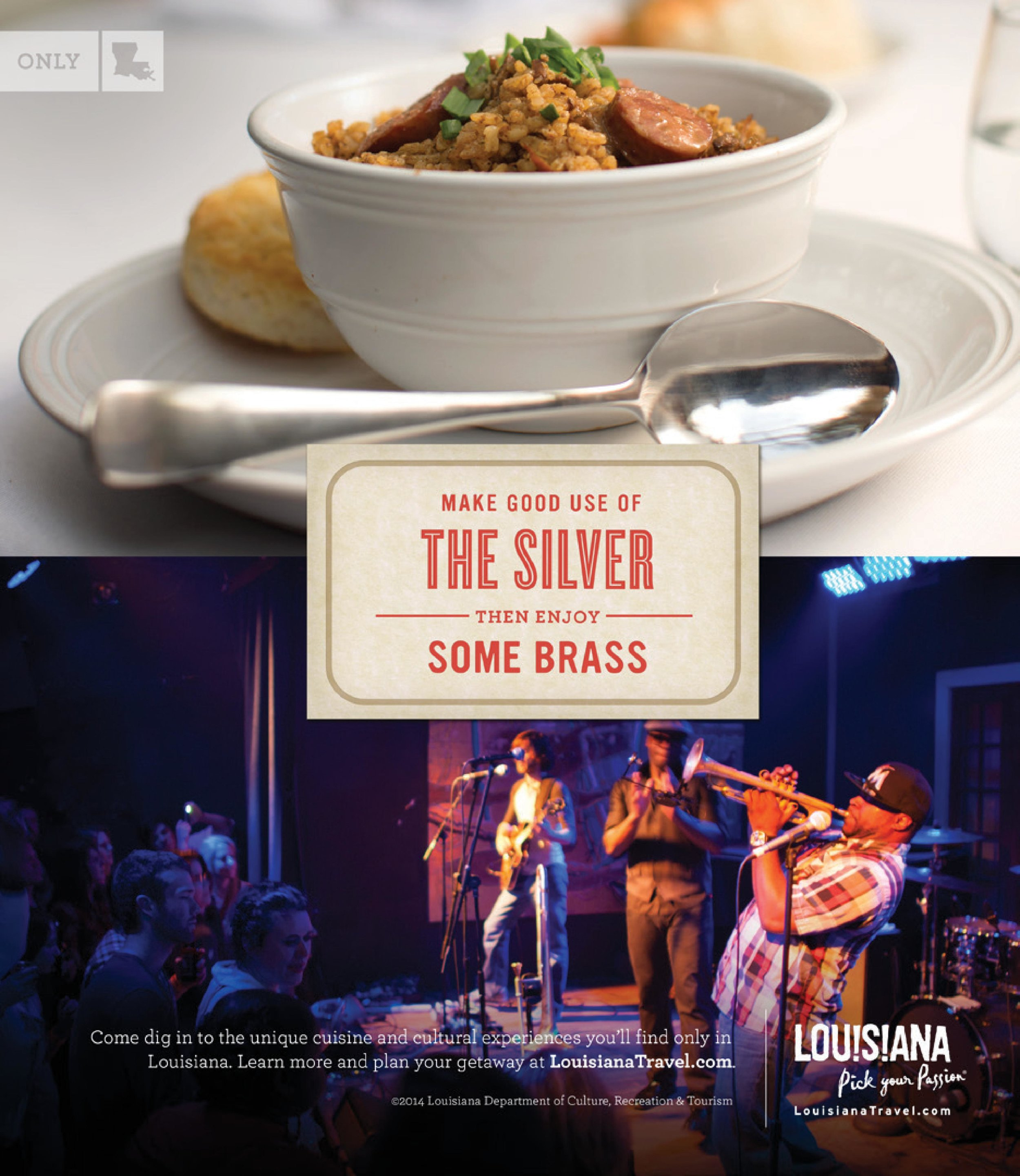 Louisiana Office of Tourism: Culinary Campaign