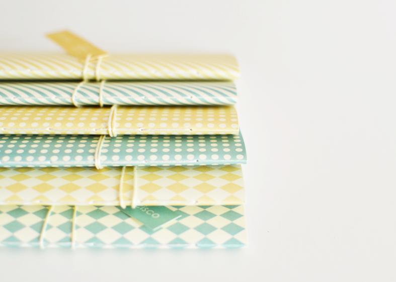 cadernos beijaflor feitos à mão
