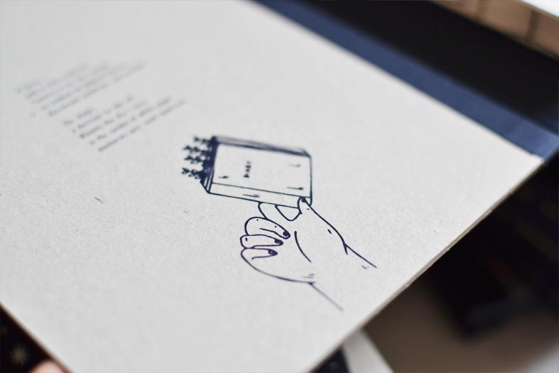 beija-flor notebook diary