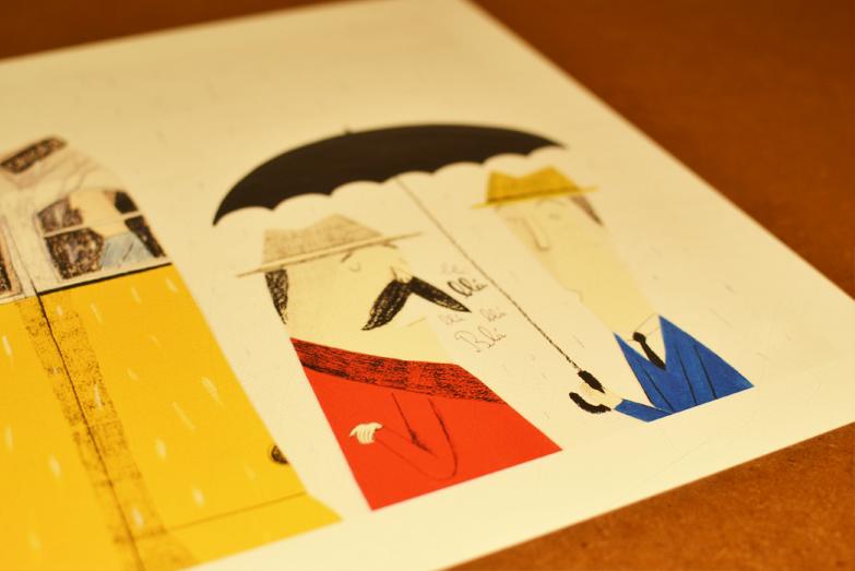 Pormenor da ilustração de Catarina Sobral. /  Detail from Catarina Sobral's illustration.